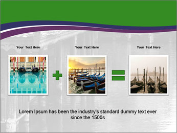 Traditional floating market in Thailand PowerPoint Templates - Slide 22