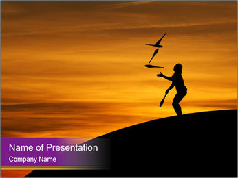0000085984 PowerPoint Template - Slide 1