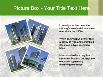 Panoramic view over Manhattan PowerPoint Templates - Slide 23