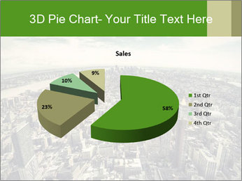 Panoramic view over Manhattan PowerPoint Templates - Slide 35