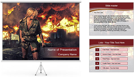 0000086009 PowerPoint Template