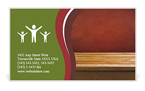 0000086044 Business Card Template