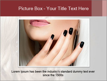 Beautiful Sexy Blond Girl PowerPoint Templates - Slide 16