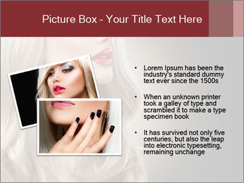 Beautiful Sexy Blond Girl PowerPoint Templates - Slide 20