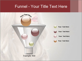 Beautiful Sexy Blond Girl PowerPoint Templates - Slide 63