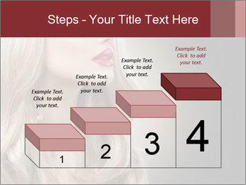 Beautiful Sexy Blond Girl PowerPoint Templates - Slide 64