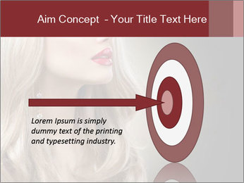 Beautiful Sexy Blond Girl PowerPoint Templates - Slide 83