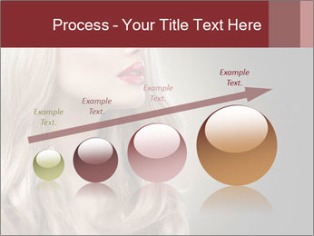 Beautiful Sexy Blond Girl PowerPoint Templates - Slide 87