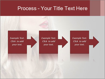 Beautiful Sexy Blond Girl PowerPoint Templates - Slide 88