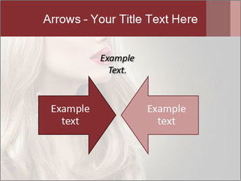 Beautiful Sexy Blond Girl PowerPoint Templates - Slide 90