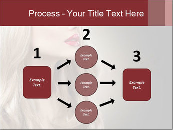 Beautiful Sexy Blond Girl PowerPoint Templates - Slide 92