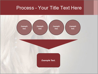 Beautiful Sexy Blond Girl PowerPoint Templates - Slide 93