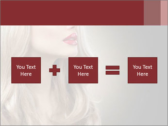 Beautiful Sexy Blond Girl PowerPoint Templates - Slide 95