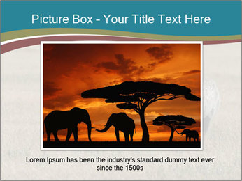 Black Rhino in Ngorongoro Crater PowerPoint Templates - Slide 15