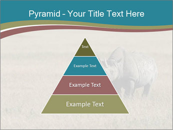 Black Rhino in Ngorongoro Crater PowerPoint Templates - Slide 30