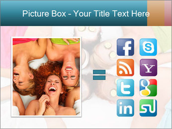 A picture of five girl friends PowerPoint Templates - Slide 21