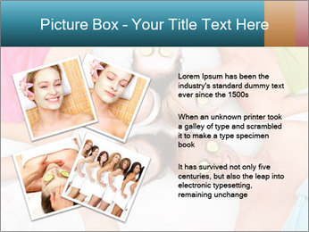 A picture of five girl friends PowerPoint Templates - Slide 23