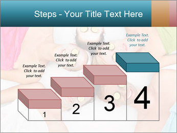 A picture of five girl friends PowerPoint Templates - Slide 64