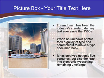 First light on the tugboats PowerPoint Template - Slide 13