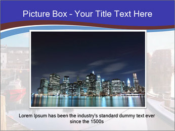 First light on the tugboats PowerPoint Template - Slide 16