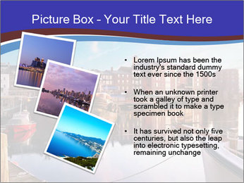 First light on the tugboats PowerPoint Template - Slide 17