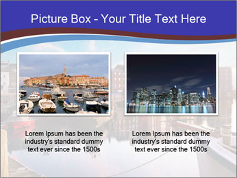 First light on the tugboats PowerPoint Template - Slide 18