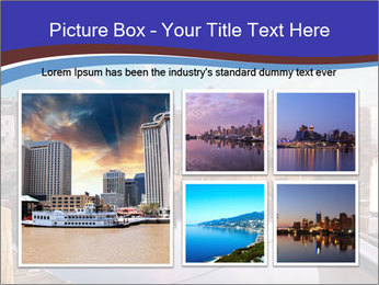 First light on the tugboats PowerPoint Template - Slide 19