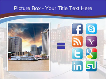 First light on the tugboats PowerPoint Template - Slide 21