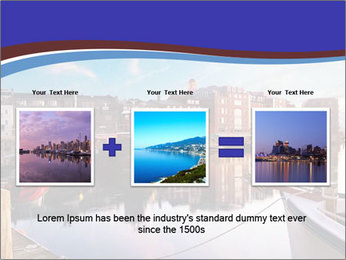 First light on the tugboats PowerPoint Template - Slide 22