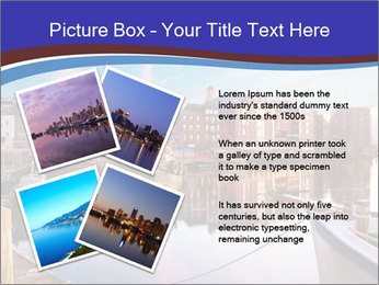 First light on the tugboats PowerPoint Template - Slide 23