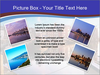 First light on the tugboats PowerPoint Template - Slide 24