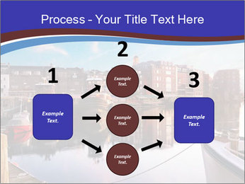 First light on the tugboats PowerPoint Template - Slide 92