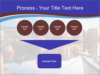 First light on the tugboats PowerPoint Template - Slide 93
