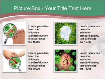 Opened woman's eye PowerPoint Templates - Slide 14