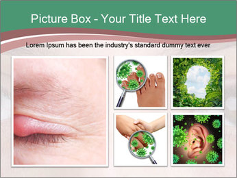 Opened woman's eye PowerPoint Templates - Slide 19