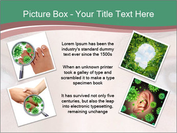 Opened woman's eye PowerPoint Templates - Slide 24