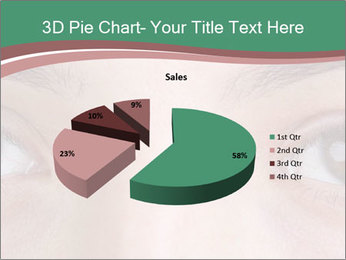 Opened woman's eye PowerPoint Templates - Slide 35