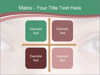 Opened woman's eye PowerPoint Templates - Slide 37