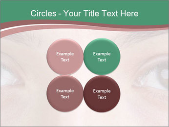 Opened woman's eye PowerPoint Templates - Slide 38