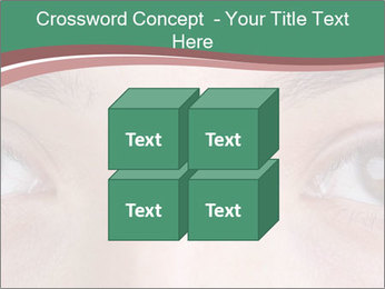 Opened woman's eye PowerPoint Templates - Slide 39