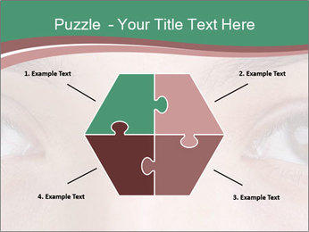 Opened woman's eye PowerPoint Templates - Slide 40