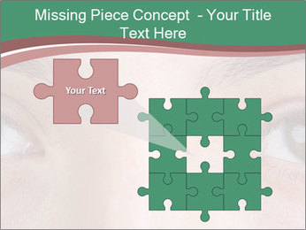Opened woman's eye PowerPoint Templates - Slide 45