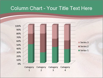 Opened woman's eye PowerPoint Templates - Slide 50