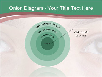 Opened woman's eye PowerPoint Templates - Slide 61