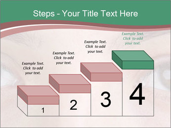 Opened woman's eye PowerPoint Templates - Slide 64