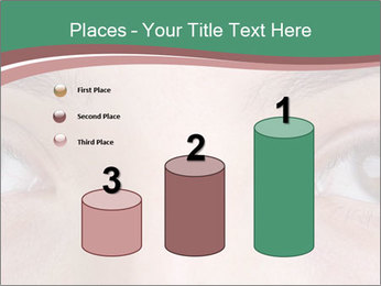 Opened woman's eye PowerPoint Templates - Slide 65