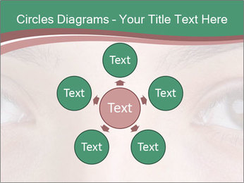 Opened woman's eye PowerPoint Templates - Slide 78