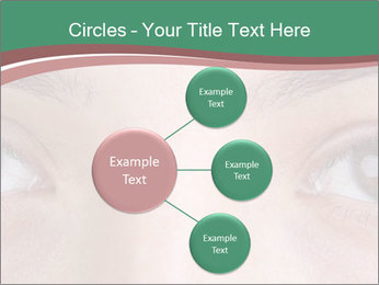 Opened woman's eye PowerPoint Templates - Slide 79