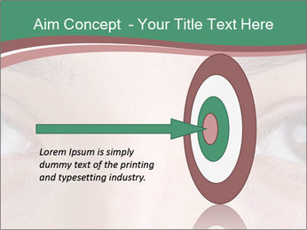 Opened woman's eye PowerPoint Templates - Slide 83