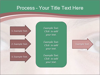Opened woman's eye PowerPoint Templates - Slide 85